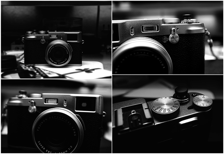 Fujifilm X100 Collage