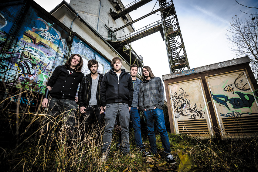 Band Fotoshooting