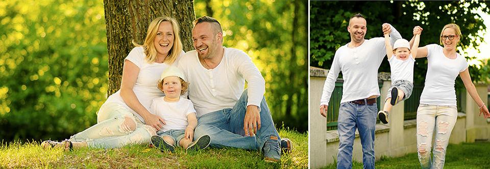 Familienfotos Natur Family