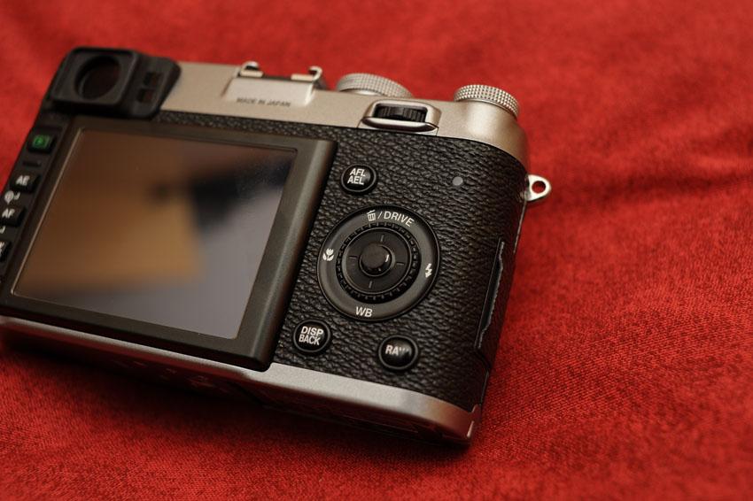 Fujifilm X100 OK-Button verbessern