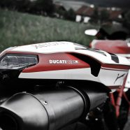 Ducati Motorrad Fotoshooting